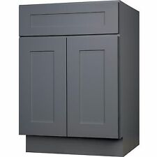 Gray Kitchen Cabinets EBay - Grey kitchen base cabinets