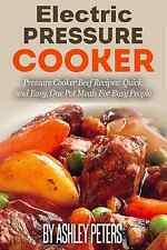 Electric Pressure Cooker Cookbook: 50 Beef Pressure Cooker Recipes(Paperback)
