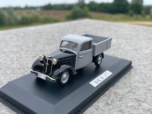 DKW F7 Pickup Lieferwagen - Retro 1:43 - NEU & OVP  n/ BBR EMC Boyer Ilario