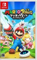 USED Nintendo Switch Mario + Rabbits KINGDOM Battle Japan import
