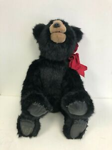 "BEAVER VALLEY Mattie 24"" Teddy Bear VINTAGE SIGNED 13/25 Kayla Nilan '92"