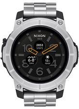 Reloj Hombre Nixon The Mission A1216130 de Acero inoxidable Plateado