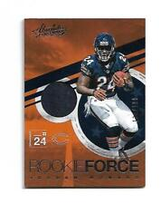 """JORDAN HOWARD 2016 ABSOLUTE """" ROOKIE FORCE """" JERSEY RC #21 /199 $20.00 DOLPHINS"""