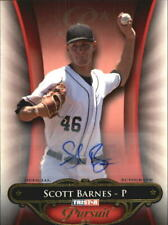 2010 TRISTAR Pursuit Autographs #125 Scott Barnes /80