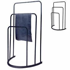3 Stangen Etagen Handtuchhalter Freistehend Chrom Badezimmer Gestell Gestänge