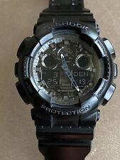 CASIO G-Shock 5081 GA-100CF Black Sports Watch