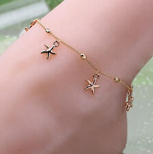Sexy Women Starfish Charm Ankle Chain Anklet Bracelet Foot Jewelry Sandal Beach