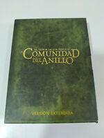 El Señor de los Anillos La Comunidad del Anillo - Edicion Extendida 4 x DVD