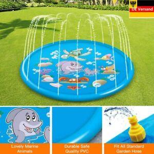 Mini Wasserpark Aufblasbare Pool Planschbecken Kinderbadespaß Wasserspielzeug DE