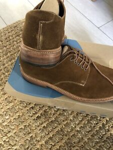 Grenson suede shoes
