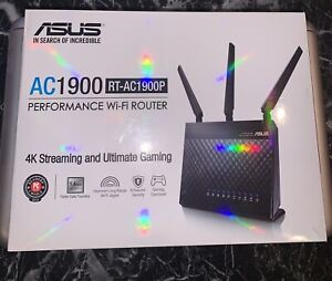 ASUS RT-AC1900P Performance Wi-Fi Router 4K Streaming and Ultimate Gaming