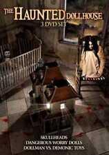 The Haunted Dollhouse NEW 3 DVD SET ,SKULLHEADS,WORRY DOLLS,DEMONIC  TOYS,HORROR