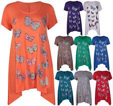 Women's Floral Hip Length Tops & Shirts