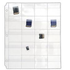StoreSMART 20-Pocket Binder Page 10pack for Flash Drives/Memory Cards VH1173F-10