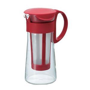 Hario Mizudashi Cold Brew Coffee Pot, 600 ml, Red