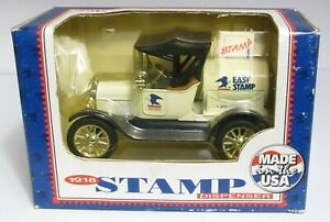 1918 Ford Model T Runabout US Mail Stamp Dispenser by Ertl