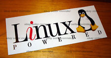 Linux powered software os decal sticker