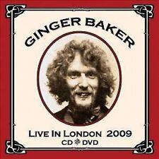 Ginger Baker Live In London 2009 CD+DVD NEW SEALED