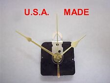 "Battery Quartz Clock Movement Kit for Dials Up to 1/8"" - J"