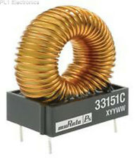 Murata Power Solutions - 33100c-Inductor, 10uh, 15% 7,6 un Th Toroid