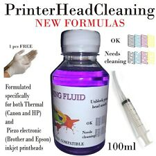 Unblock print head nozzle Printer cleaner, cleaning kit 100ml