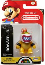 World of Nintendo Super Mario Wave 17 Bowser Jr. with Mask 2.5-Inch Mini Figure