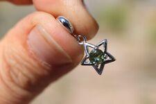 Moldavite Meteorite Jewelry Meteorite pendant