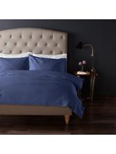 John Lewis & Partners 1000 TC Egyptian Cotton Standard Oxford Pillowcase Blue