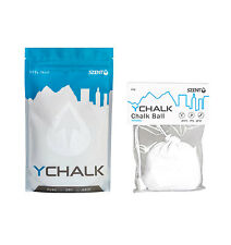 COMBO DEAL: 65g Chalk Ball + 113g YChalk Refill for GYM, ROCK CLIMBING, CROSSFIT