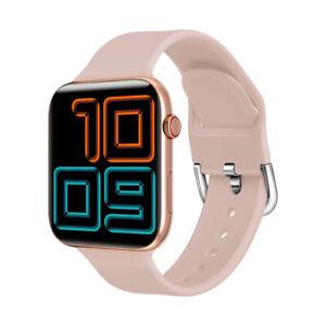 Bluetooth Smart Watch Sports Fitness Tracker Reloj impermeable Kumi Air Pro Rosa