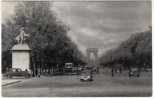CARTE POSTALE PARIS AVENUE DES CHAMPS ELYSEES