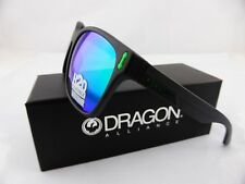 Dragon LIEGE Sunglasses Matte Black H2O - Green Ion Polarised Lens