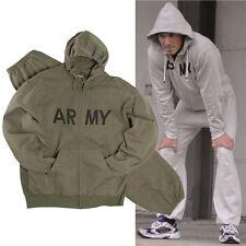 US Jogginganzug ARMY S-3XL, Herren Trainingsanzug Sportanzug, Kapuzenjacke Hose