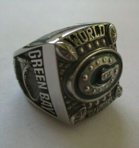 Ladies Green Bay Packers World Champions Super Bowl XLV 2010 Ring Size 5.5