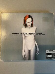 Marilyn Manson - Mechanical Animals (CD 1998) INDUSTRIAL, METAL, ROCK