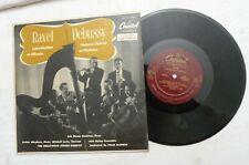 """10"""" 33 RPM, Ravel / Debussy, Introduction Et Allegro / Danses Sacrée Et Profane"""