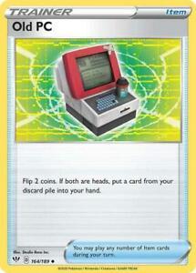 164/189 Old PC Trainer Uncommon Darkness Ablaze Pokemon Card