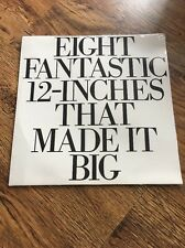 ❣RARE❣️SEALED MINT DUTCH PROMO LP•Eight Fantastic 12-Inches.~Wham George Michael