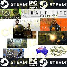 AusSeller* HALF-LIFE COMPLETE -PC STEAM Game Digital DOWNLOAD Code-NoDiscNoBox