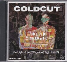 COLDCUT SOUND MIRRORS INSTRUMENTALS + EDITS RARE PROMO CD [NINJA TUNE]