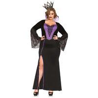 Womens Sexy Plus Size Evil Queen Disney Costume