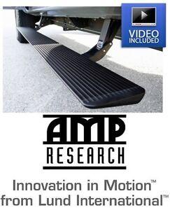 Amp Research Running Board Power Steps w/ Light Kit for 2010-2021 Toyota 4Runner