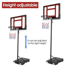 Pro 7ft Basketball Hoop Adjustable Height Portable Backboard System Junior Kids