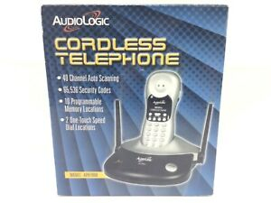 AUDIOLOGIC 40 Channel Auto Scanning Cordless Telephone 900 MHz Model APH7900