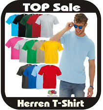 T-Shirt Fruit of the Loom  Valueweight T  25 Farben nach Wunsch