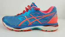Asics Gel-Cumulus 18 T6C8N Coral Women's Athletic Running Shoes Blue Pink US 10