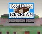 "Miller Engineering (HO/N Scale) #44-1502 ""GOOD HUMOR ICE CREAM"" Neon Sign - NIB"