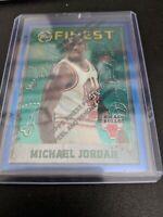1995-96 Topps Finest #229 MICHAEL JORDAN Card w/Coating Chicago Bulls