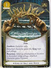 A Game of Thrones 2.0 LCG - #052 King of Salt and Rock - For Family Honor