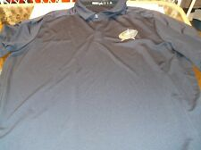 Columbus Blue Jackets NHL Team Apparel Adidas Game day Polo XXL